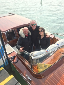Our taxi driver for the day exploring Burano and Murano.